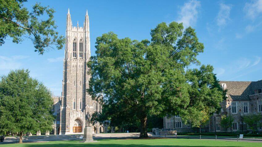 Duke University in North Carolina