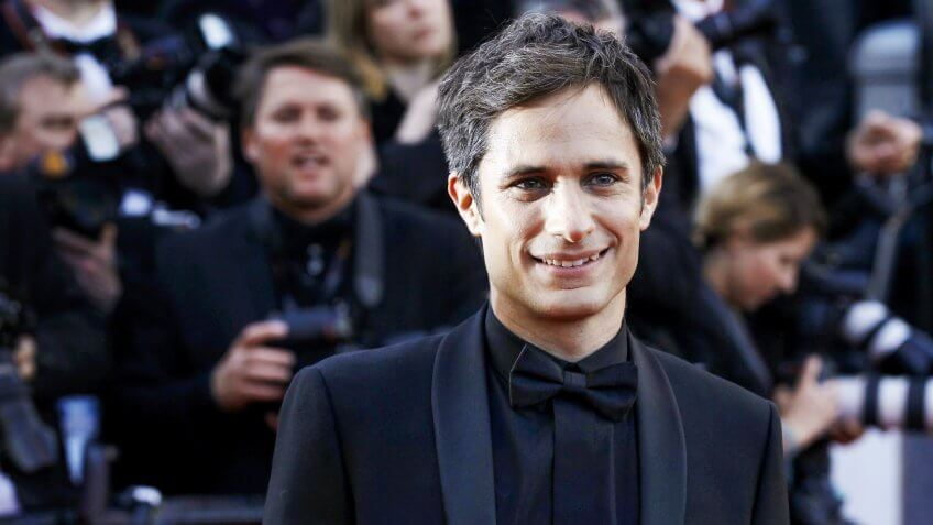 CANNES, FRANCE - MAY 11: Gael Garcia Bernal attends the 'Cafe Society' premiere during the 69th Cannes Film Festival on May 11, 2016 in Cannes, France.