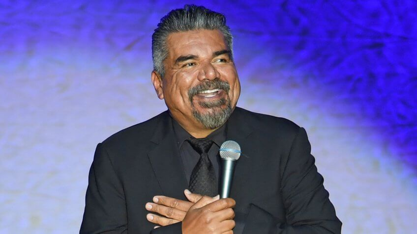 Mandatory Credit: Photo by Larry Marano/REX/Shutterstock (9694771a)George LopezGeorge Lopez performs at the Hard Rock Events Center, Hollywood, Florida, USA - 26 May 2018.