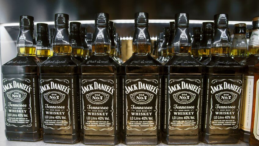 The famous whiskey brand.