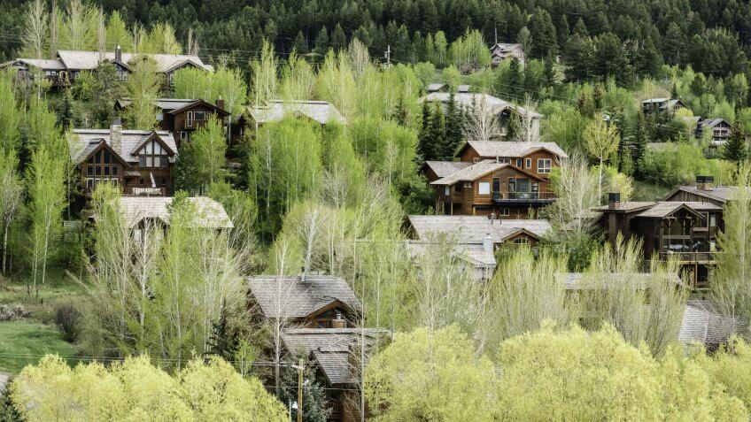 Wyoming Jackson Hole homes