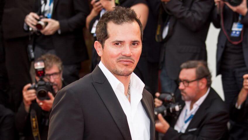 VENICE, ITALY - SEPTEMBER 03: Actor John Leguizamo attends the 'Cymbeline' premiere during the 71st Venice Film Festival on September 3, 2014 in Venice, Italy.