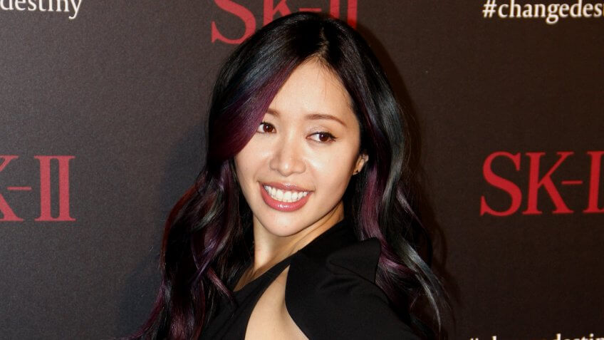 Michelle Phan at the SK-II ChangeDestiny Forum held at the Andaz Hotel in West Hollywood, USA on February 26, 2016.