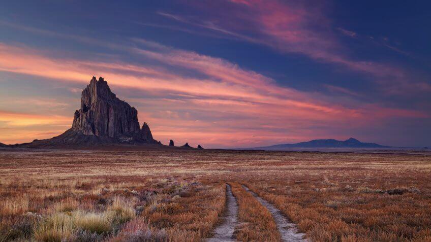 New Mexico Shiprock