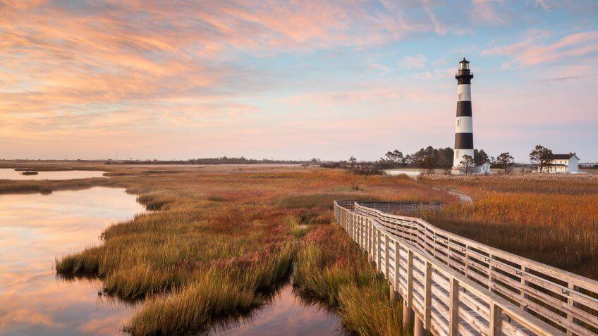 North Carolina Bodie Island Lighthouse