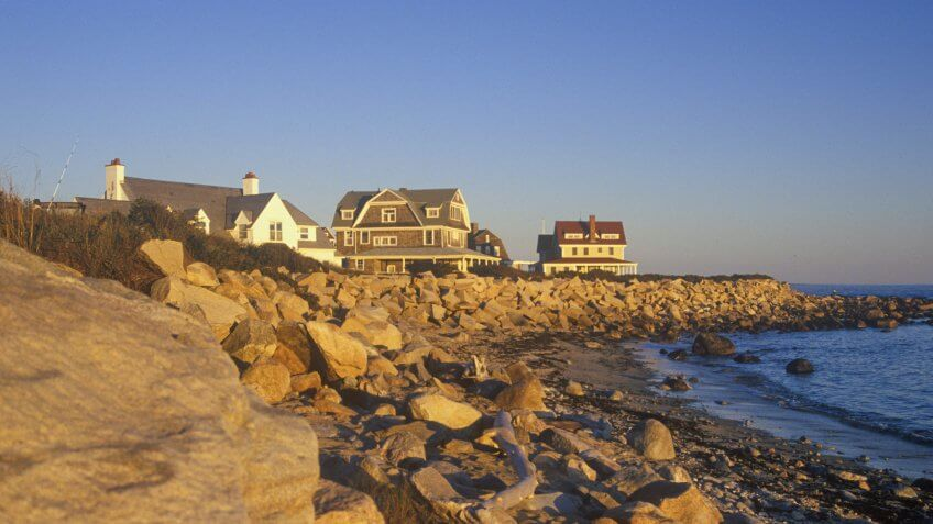 Rhode Island beach homes