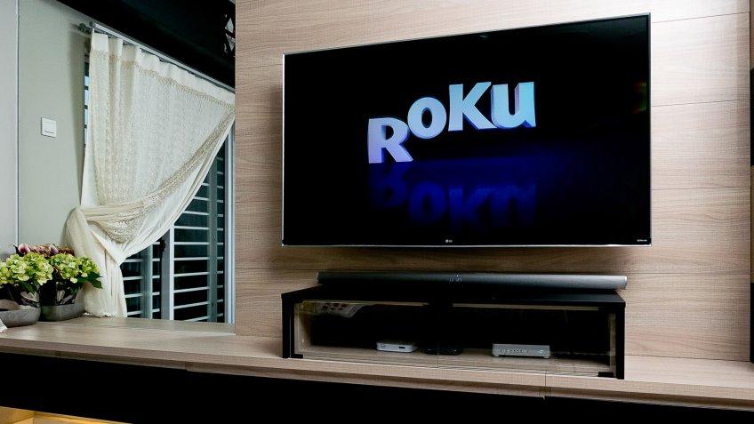 Roku app on hdtv