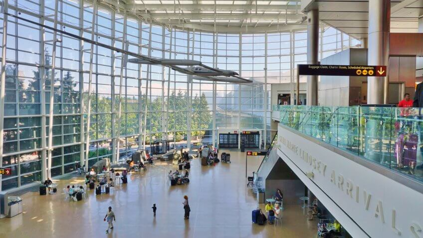 Sea-Tac Seattle-Tacoma International Airport (SEA) is the largest airport