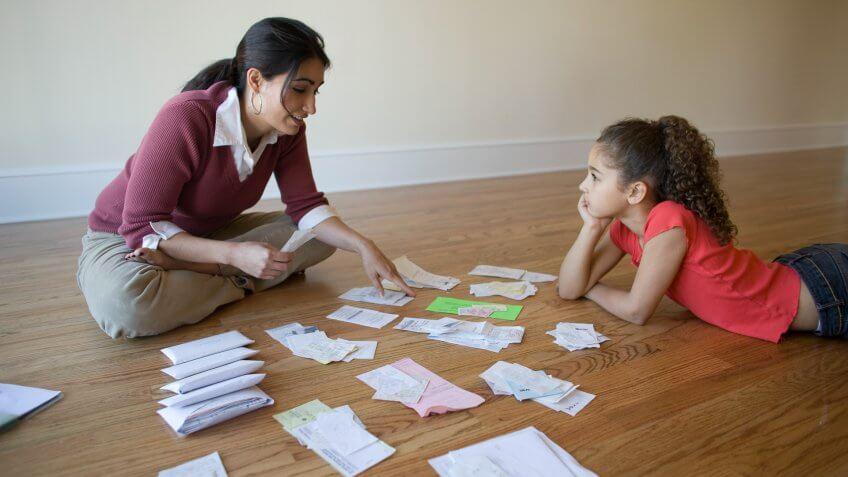 Debt, concern, home finance, responsibilities, taxes