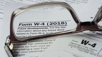 The Easiest Way to Fill Out Your W-4
