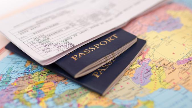 International travel passports