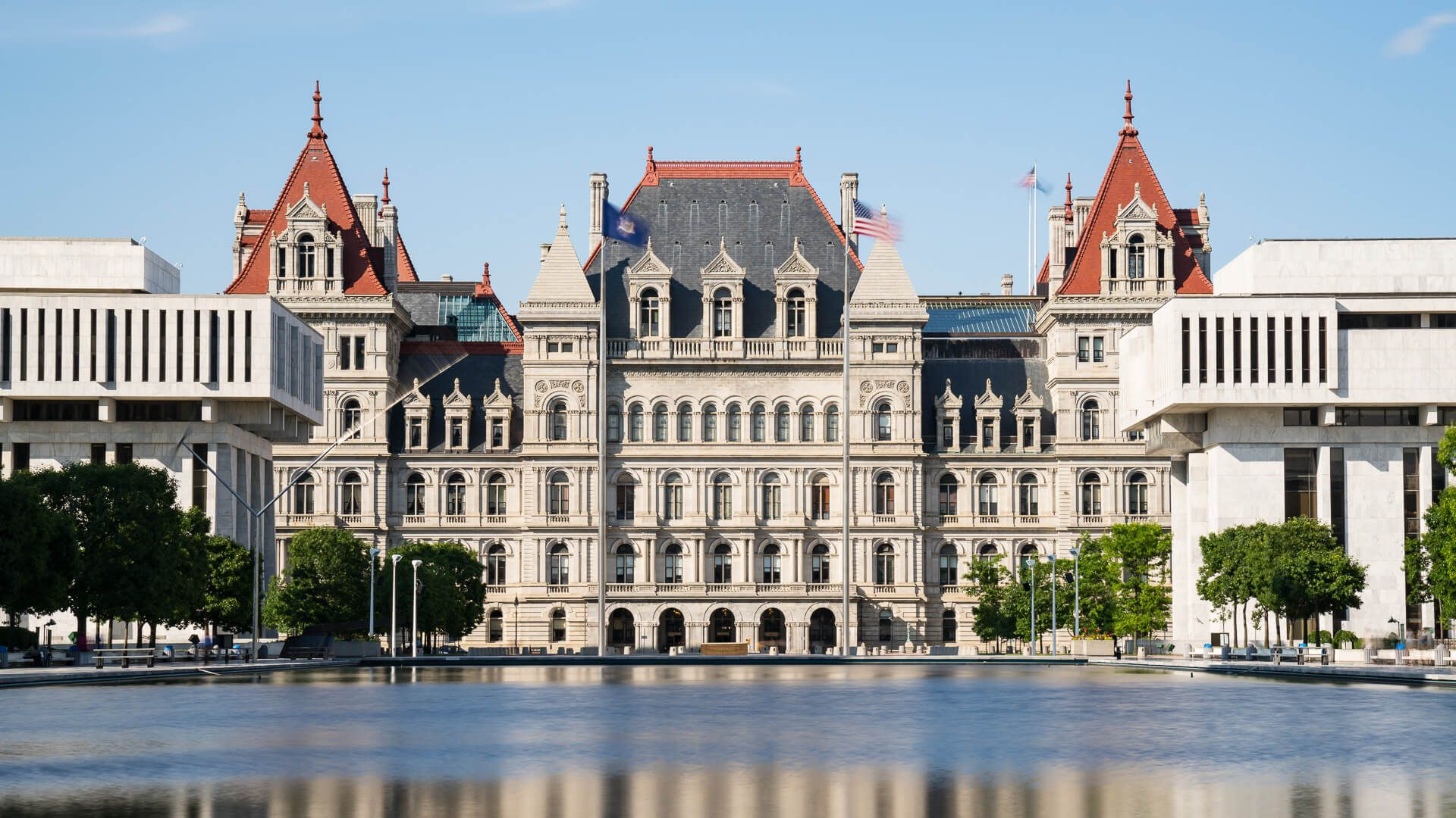 Albany New York Capital building