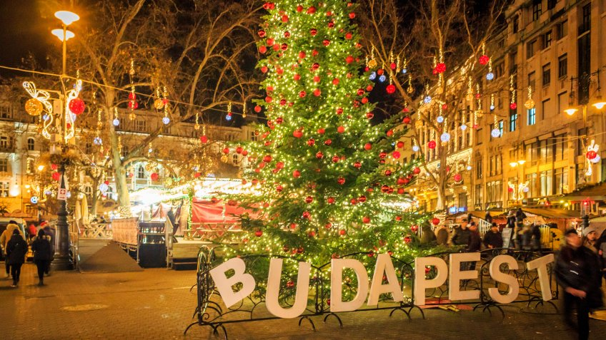 Budapest - Hungary during Christmas.
