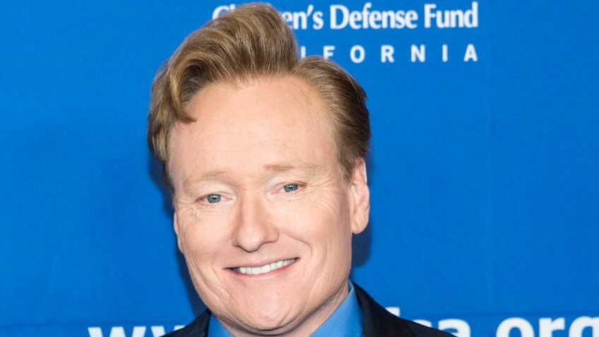 "Elizabeth Ann Powel, Conan O'Brien attend Children's Defense Fund-California 27th ""Beat the Odds"" Awards at Regent Beverly Wilshire, Beverly Hills, CA on December 7, 2017."