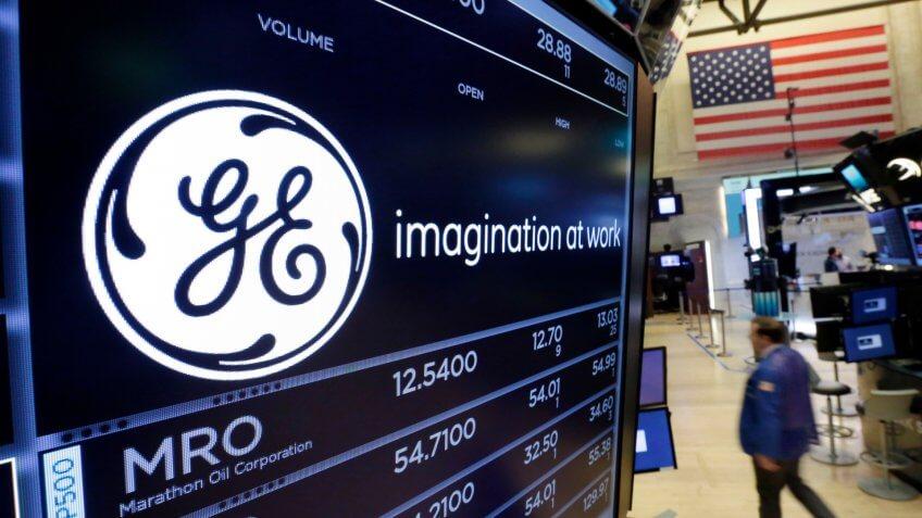 General Electric stock market ticker