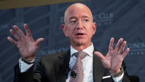 Jeff Bezos Defends Spending His Fortune on Space Travel