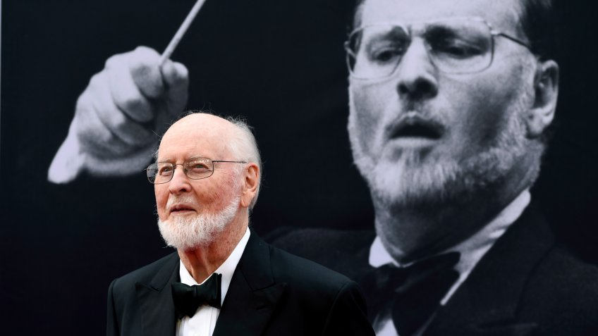 John Williams poses on the red carpet at the 2016 AFI Life Achievement Award Gala Tribute to John Williams at the Dolby Theatre in Los Angeles