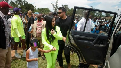 Kanye West and Kim Kardashian Want to Give Away Houses to Kids in Uganda