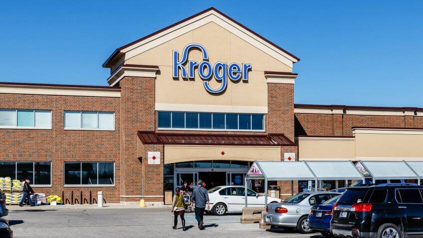 Indianapolis - Circa March 2018: Kroger Supermarket.