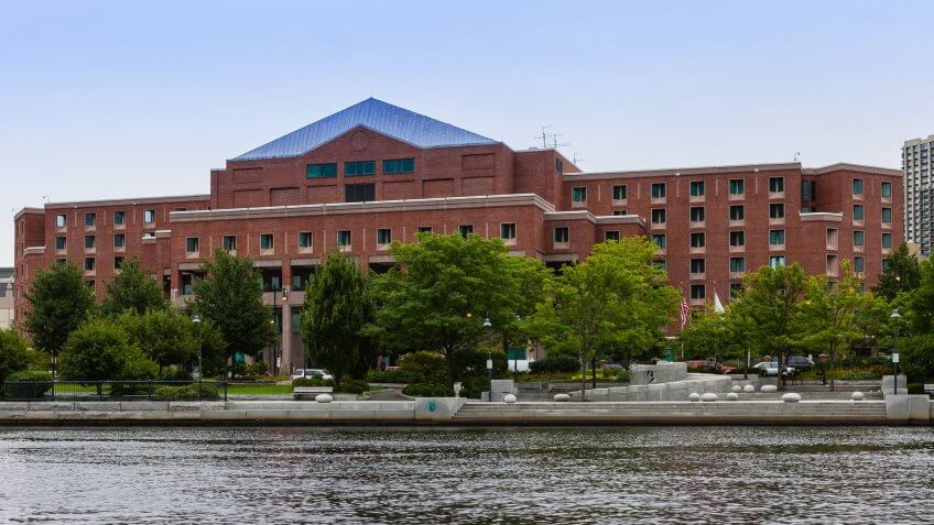 The Suffolk County Jail on Nashua Street opened in 1990; it is the replacement facility for the historical Charles Street Jail, which operated from 1851 until 1991.