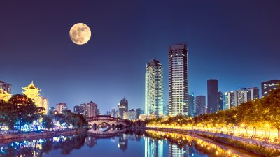 Why the World's First 'Artificial Moon' Could Save This City Millions