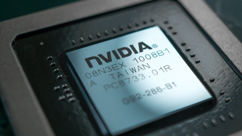 NVIDIA technology microchip