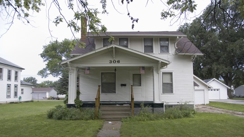 AUGUST 2007 - Childhood home of Johnny Carson, the host of The Tonight Show NBC TV, Norfolk, Nebraska.