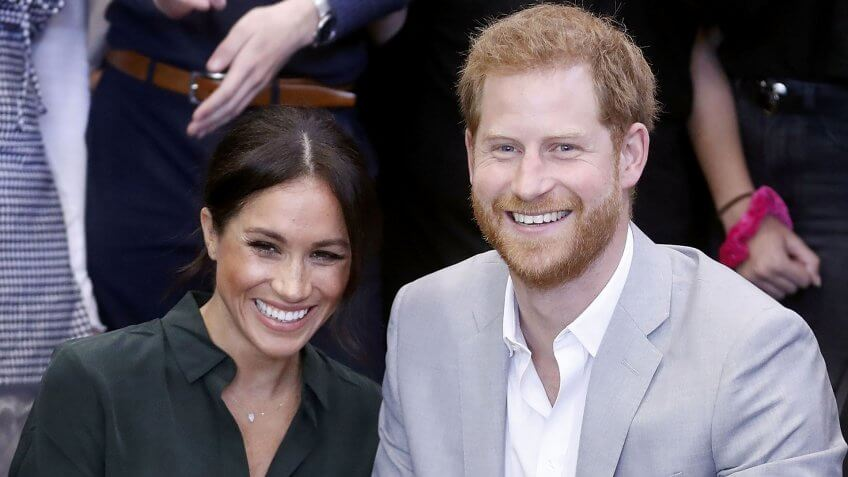 Mandatory Credit: Photo by REX/Shutterstock (9913532ae)Meghan Duchess of Sussex and Prince Harry make an official visit to the Joff Youth CentrePrince Harry and Meghan Duchess of Sussex visit to Sussex, UK - 03 Oct 2018The Duke and Duchess married on May 19th 2018 in Windsor and were conferred The Duke & Duchess of Sussex by The Queen.