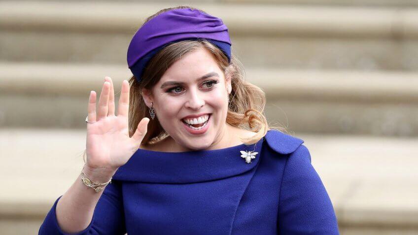 Mandatory Credit: Photo by REX/Shutterstock (9927728dp)Princess BeatriceThe  wedding of Princess