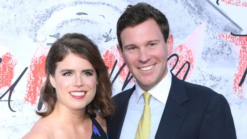 Mandatory Credit: Photo by David Fisher/REX/Shutterstock (9721849ck)Princess Eugenie and Jack BrooksbankSerpentine Gallery Summer Party, Arrivals, Kensington Gardens, London, UK - 19 Jun 2018.
