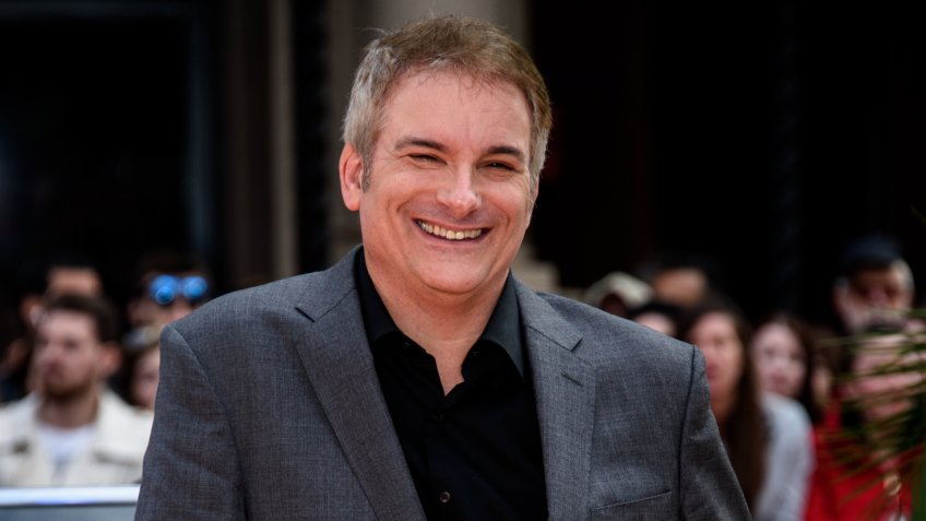 Shane Black poses for photographers upon arrival at the UK premiere of the film 'The Nice Guys ' at a central London cinema, London Britain The Nice Guys Premiere