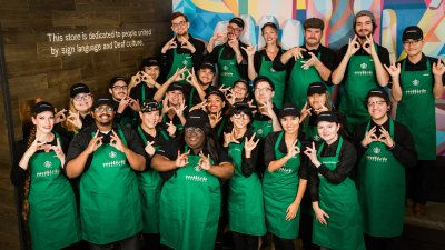 At Starbucks' Newest Store, Customers Can Order in Sign Language