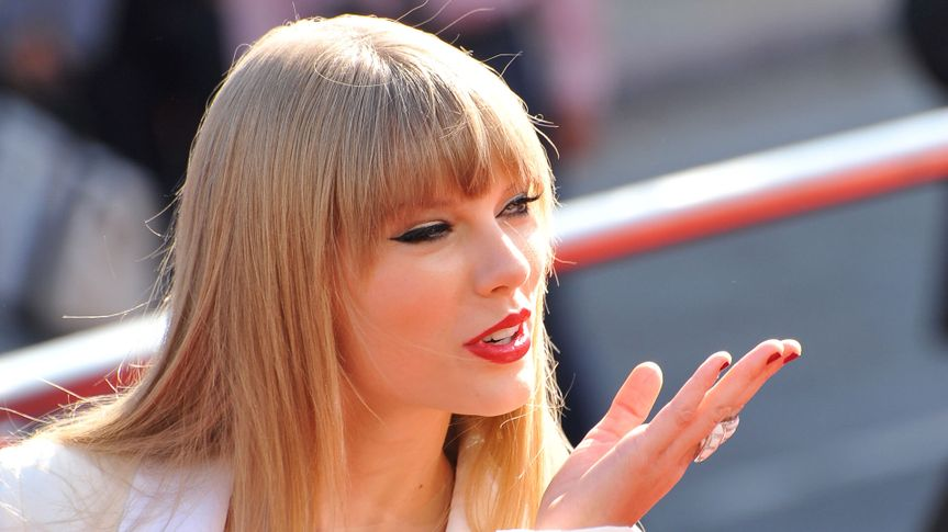 Taylor Swift at the 2012 MTV Video Music Awards at Staples Center, Los Angeles.