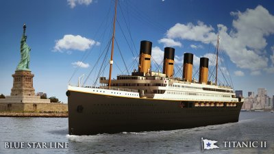 A $500 Million Titanic Clone to Set Sail in 2022