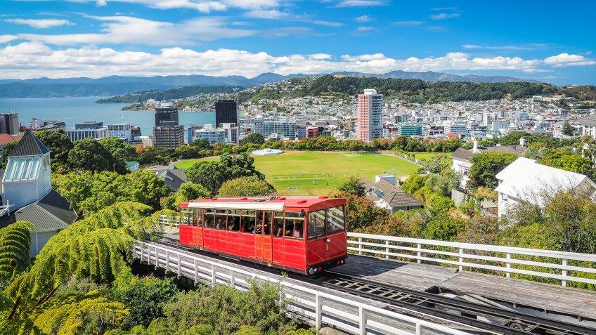 The most famous landmark in Wellington.