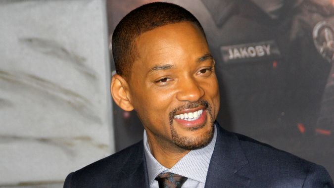 """Will Smith attends the Netflix """"Bright"""" premiere on Dec."""