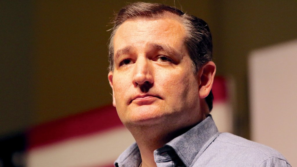 SIOUX CENTER, IOWA - JANUARY 5, 2016: Presidential candidate, Ted Cruz, speaks at a campaign stop in Iowa.