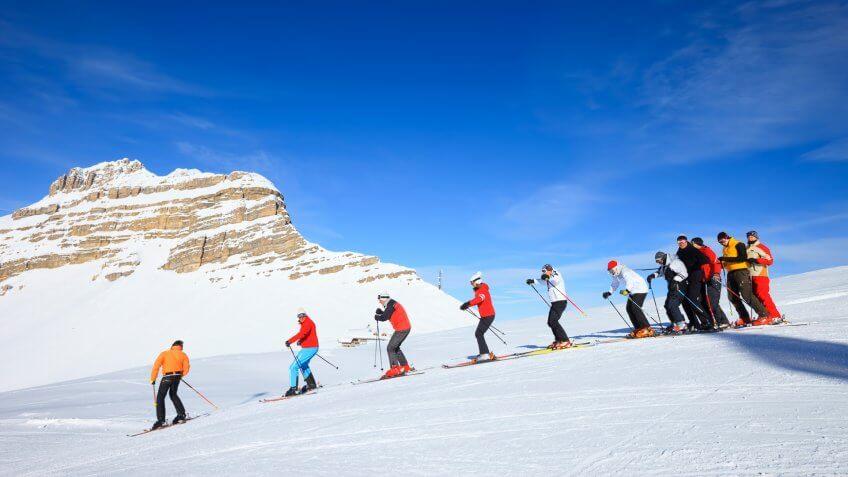 Ski School.
