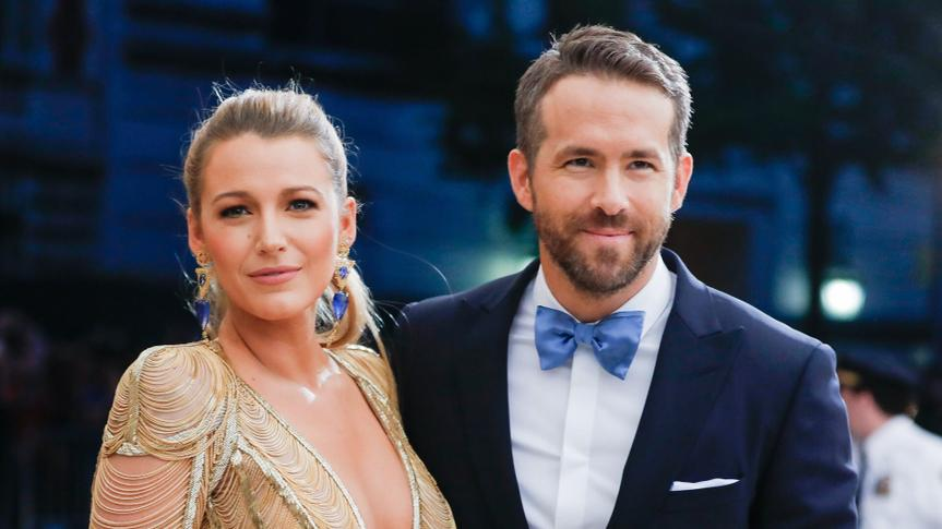Photo by Carl Timpone/BFA/REX/Shutterstock Blake Lively, Ryan ReynoldsThe Costume Institute Benefit celebrating the opening of Rei Kawakubo/Comme des Garcons: Art of the In-Between, Arrivals, The Metropolitan Museum of Art, New York, USA - 01 May 2017.