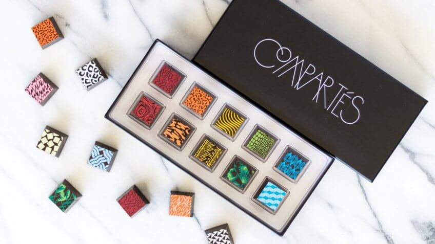 Compartes 10 Piece Assorted Chocolates