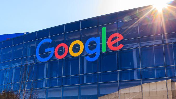 Google headquarters in California