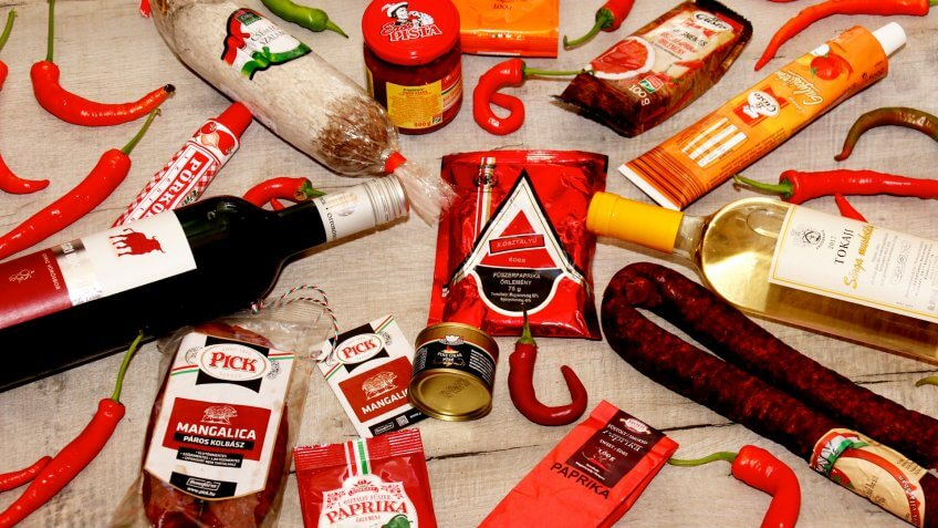 Hungarian snacks