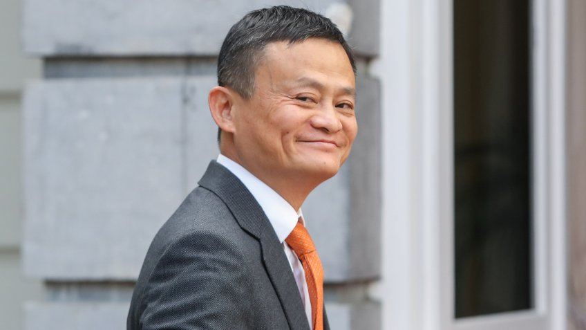 Mandatory Credit: Photo by STEPHANIE LECOCQ/EPA-EFE/REX/Shutterstock (9733306g)Jack MaFounder and executive chairman of Chinese e-commerce company Alibaba Group in Brussels, Belgium - 03 Jul 2018Jack Ma, the founder and executive chairman of Chinese e-commerce company Alibaba Group arrives for a meeting with Belgian Prime Minister Charles Michel at the Lambermont in Brussels, Belgium, 03 July 2018.