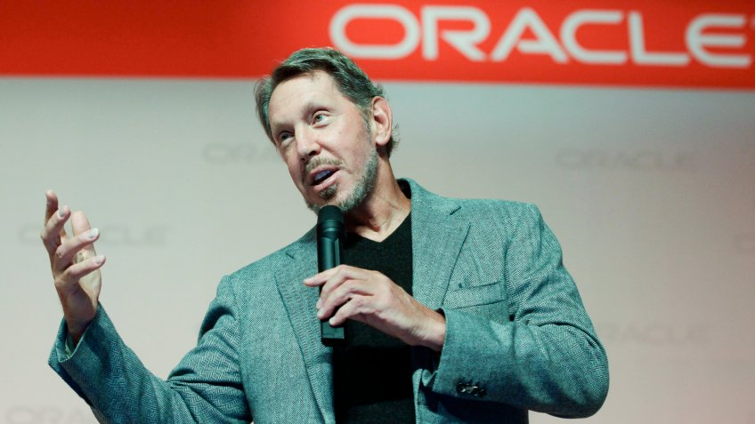 Mandatory Credit: Photo by Paul Sakuma/AP/REX/Shutterstock (6269613c)Larry Ellison Oracle CEO Larry Ellison speaks at the SPARC SuperCluster conference at Oracle headquarters in Redwood City, CalifOracle Ellison, Redwood City, USA.