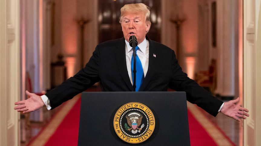 Mandatory Credit: Photo by REX/Shutterstock (9970411e)United States President Donald J.