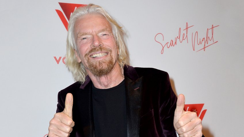 Sir Richard Branson Virgin Voyages Scarlet Night Party, New York, USA