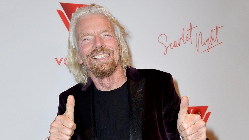 Sir Richard Branson Virgin Voyages Scarlet Night Party, New York, USA