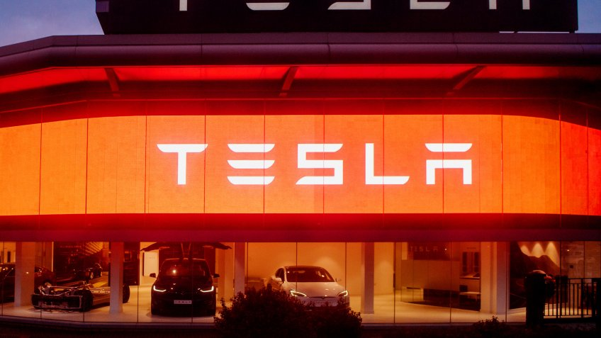 Tesla Motors dealership