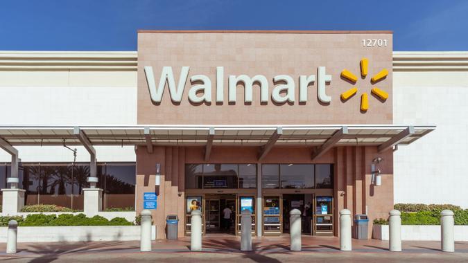 Walmart store in Cerritos