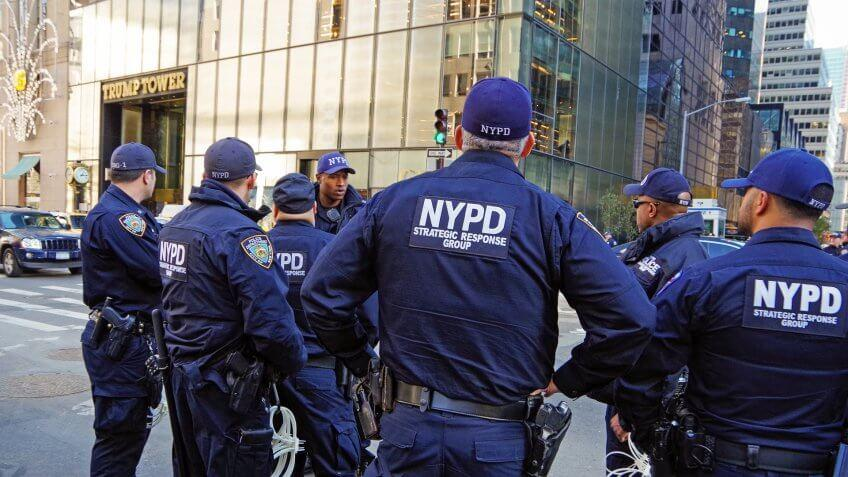 NYPD law enforcement